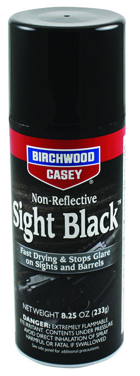 BIRCHWOOD CASEY NON REFLECTIVE SIGHT BLACK