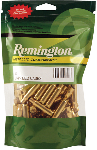 REMINGTON UNPRIMED RIFLE CASES 100PK