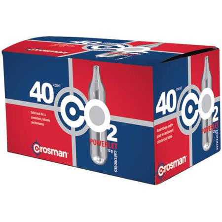 CROSMAN POWERLET CO2 CARTRIDGES 40PK