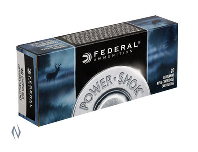 FEDERAL 22-250 REM 55GR SP POWER-SHOK