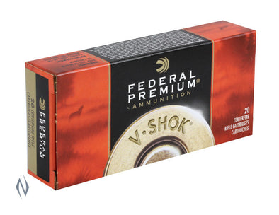 FEDERAL 222 REM 43GR TNT GREEN V-SHOK