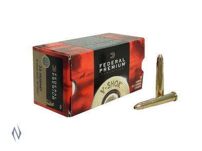 FEDERAL 22 HORNET 30GR TNT GREEN V-SHOK