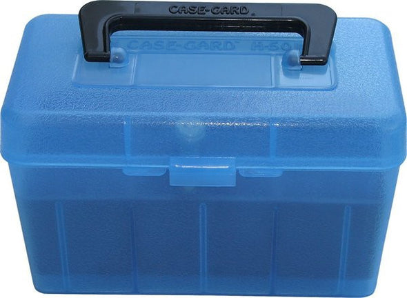 MTM DELUXE 50 ROUND AMMO CASE H50-RL
