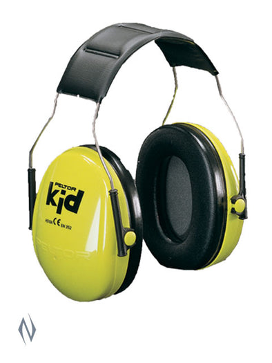 PELTOR KID EAR MUFF GREEN