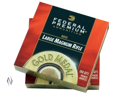 FEDERAL PRIMER GM215M GOLD MEDAL LARGE RIFLE MAGNUM