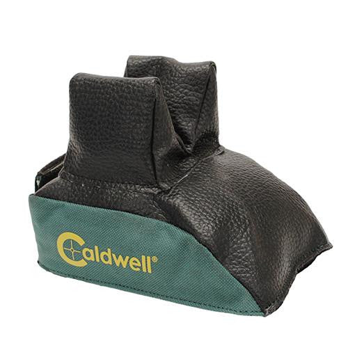 CALDWELL REAR BAG BLACK LEATHER FILLED