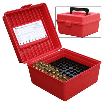 MTM DELUXE 100 ROUND AMMO CASE R-100-30