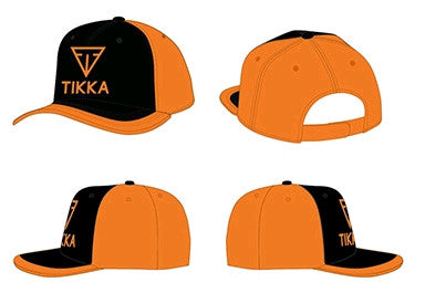 TIKKA CAP BLACK/ORANGE