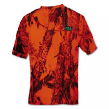 RIDGELINE SABLE AIRFLOW SHORT SLEEVE BLAZE T-SHIRT