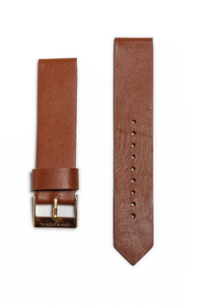Tan Synthetic Leather Strap