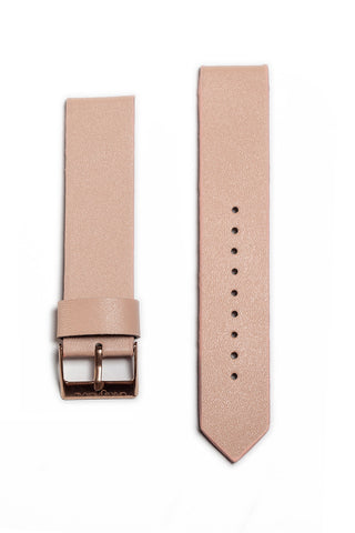 Peach Leather Strap