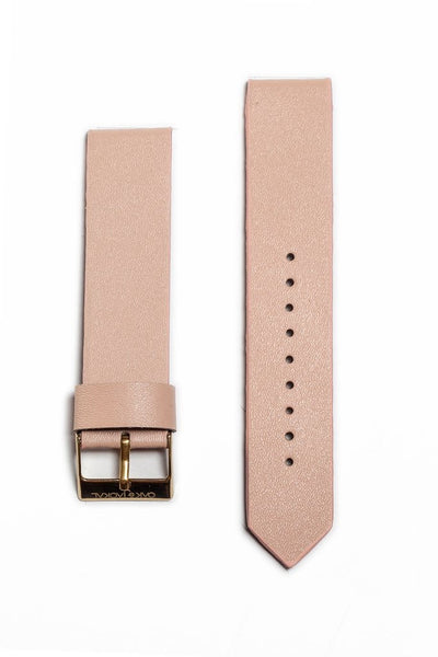 Peach Synthetic Leather Strap