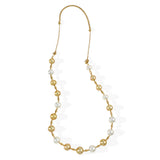 South Sea Pearl in 18K Diamond Cut Necklace #211