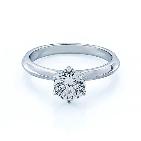 Diamond Solitaire Ring Sty #213