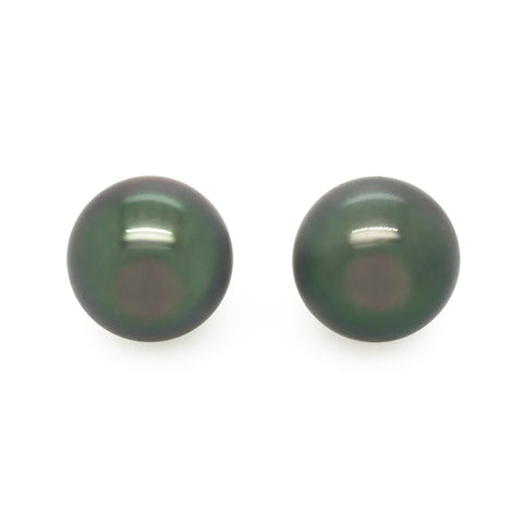 Tahitian Pearl Stud Earrings #327