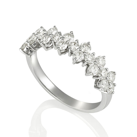 18KW Diamond Ring #216