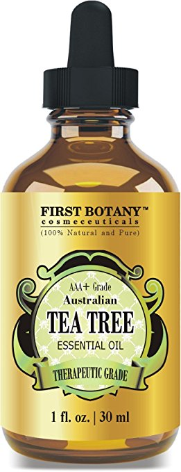 100% Pure Australian Tea Tree Essential Oil , 1 fl. oz