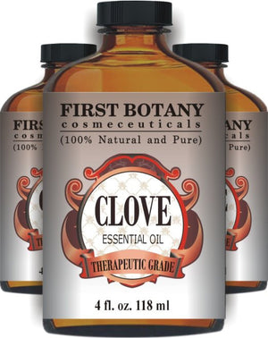 100% Pure & Naturals - Clove Leaf Essential Oil