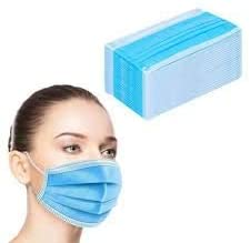 Disposable Face Masks - 50 PCS - For Home & Office Use