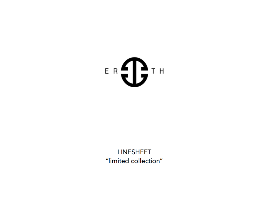ERTH - LIMITED - PG1