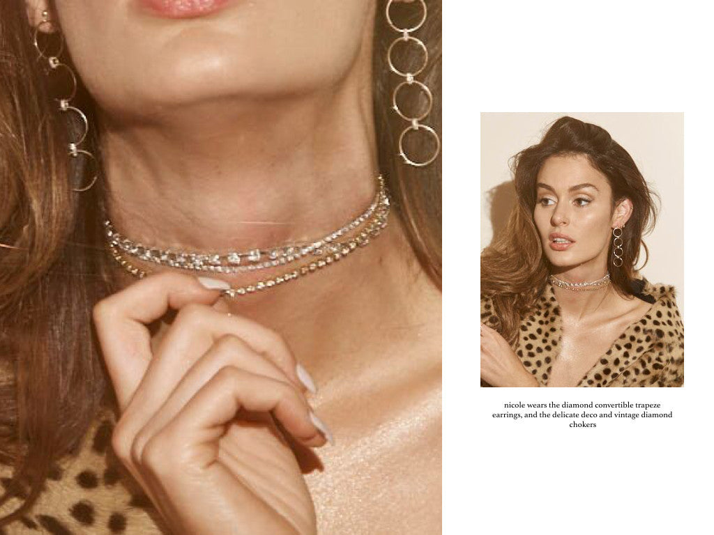 ERTH JEWELRY ROYALS '14K X VINTAGE' CAMPAIGN FEAT. NICOLE TRUNFIO
