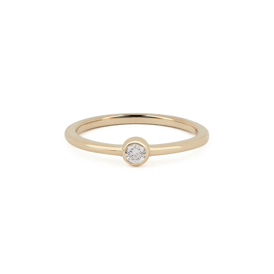 DIAMOND BIRTHSTONE BAND