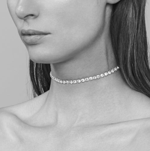Diamante Choker No. 1