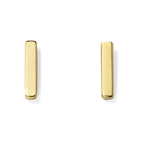 GOLD T-BAR STUD