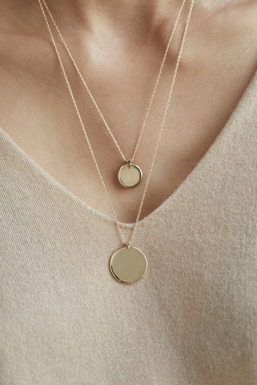 CLASSIC PLATE NECKLACE