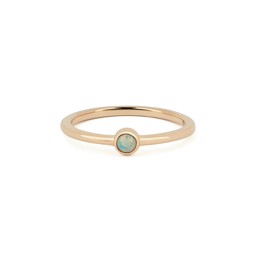 OPAL BIRTHSTONE BAND