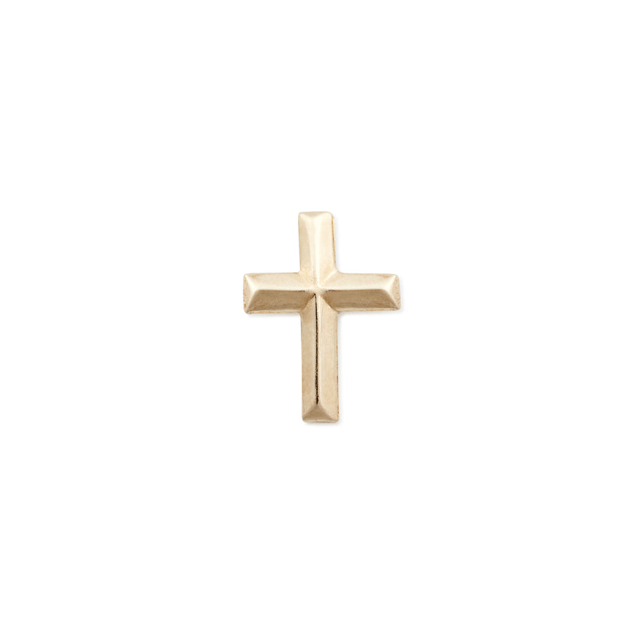 LARGE CROSS STUD