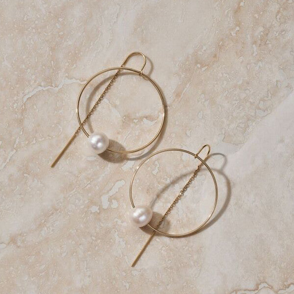 "LUNA ""GRAVITY"" EARRING"