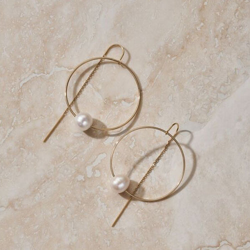 "ERTH LUNA ""GRAVITY"" EARRING"