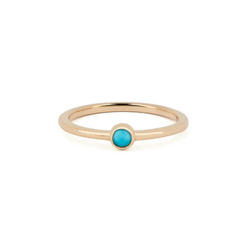 TURQUOISE BIRTHSTONE BAND