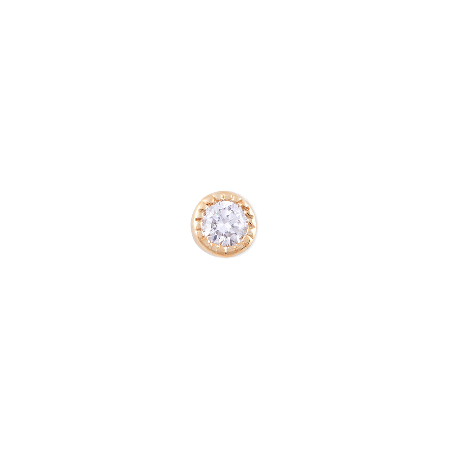 DECO DIAMOND STUD MED