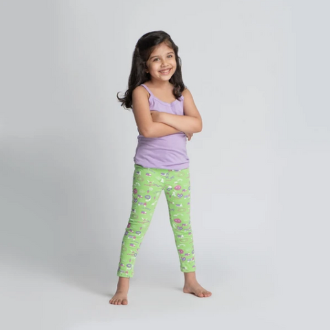 Li'l Doodler Leggings for Girls - Art and Painting for Kids