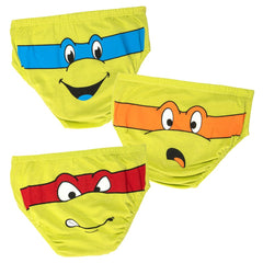 Time to Turtle Underwear for Kids