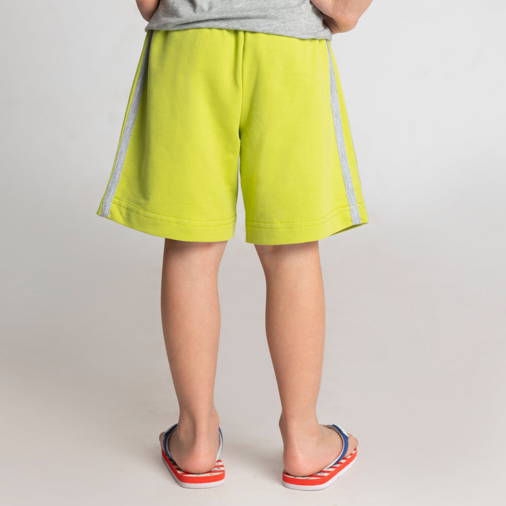Lime Shorts for Boys