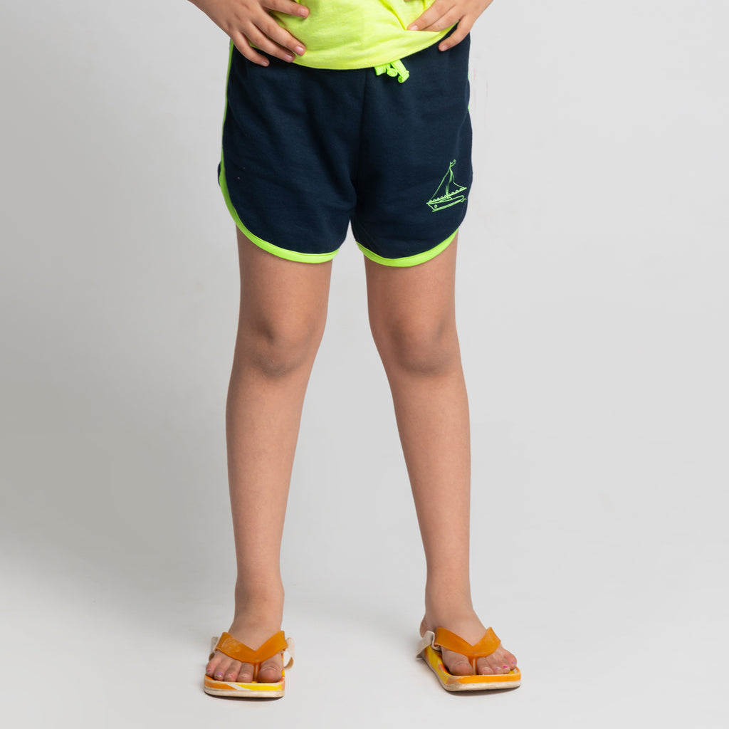 Shop Online - Blue - Girl Shorts