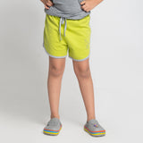 Lime Shorts for Girls
