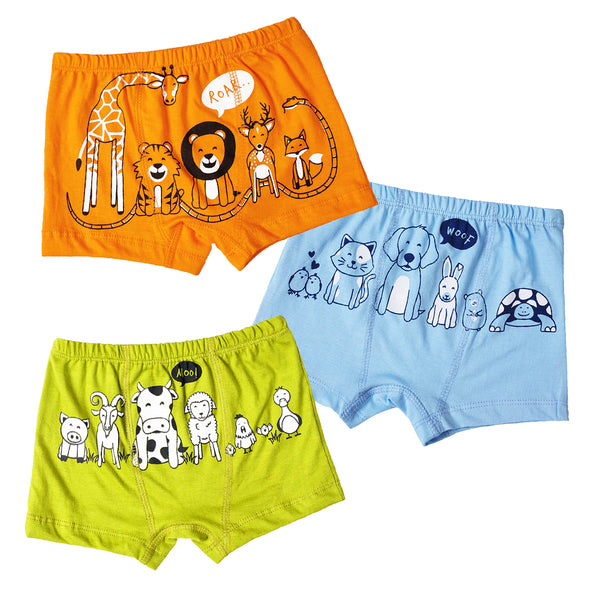Animal Kingdom - Boy Boxers