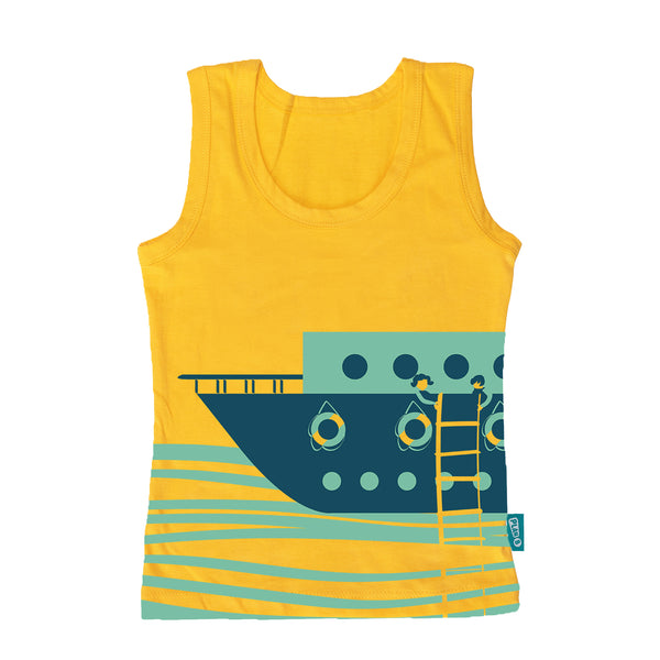 Deep Sea Diving - Boy Vest & Boxer Shorts