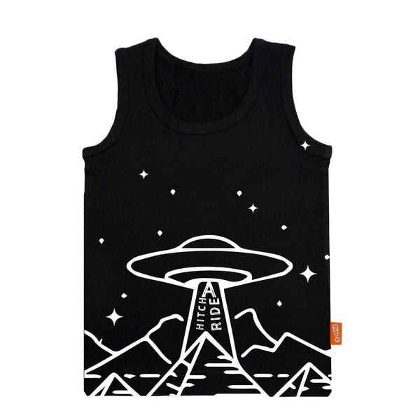UFO - Boy Vest & Boxer Shorts