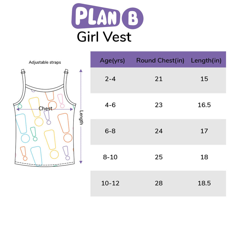Seasons - Girl Vests