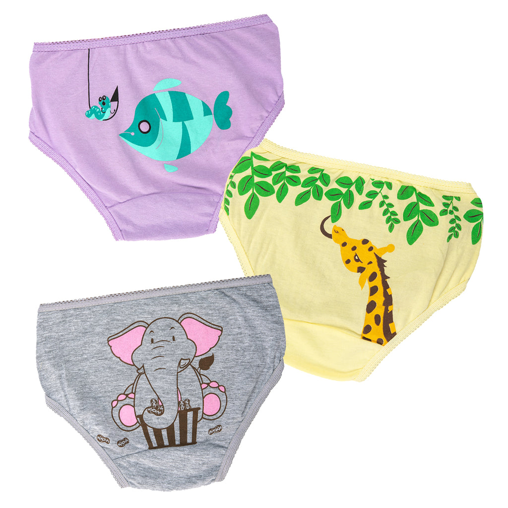 Animal Print Underwear for Girls