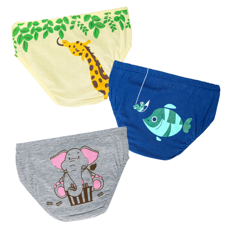 Animal Print Underwear for Boys