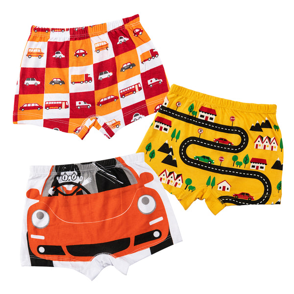 Road Trip - Boy Boxer Shorts