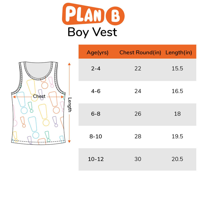 Snack Attack - Boy Vests