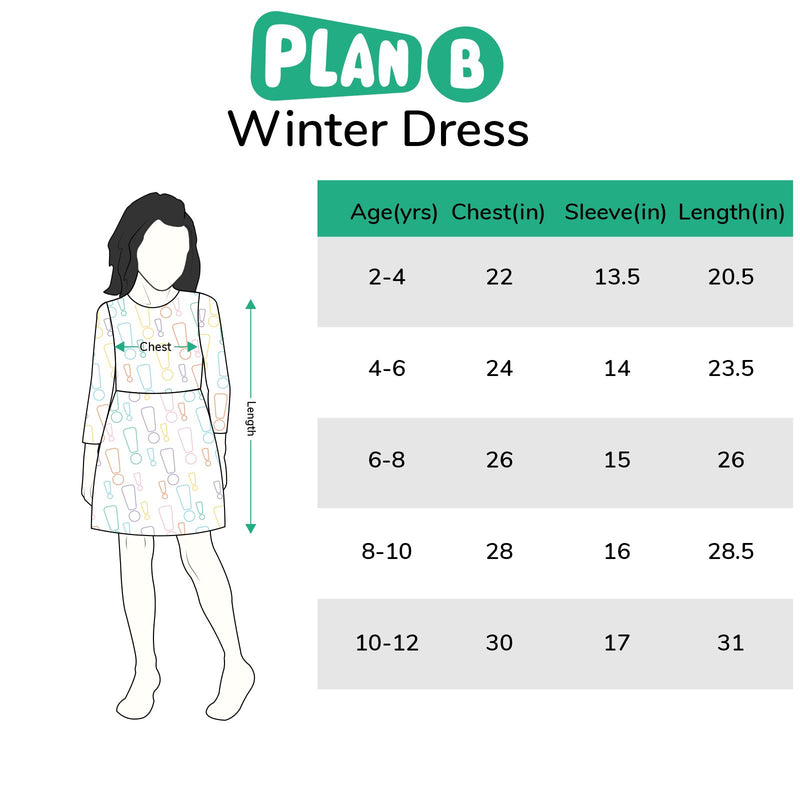 Cactus Winter Dress