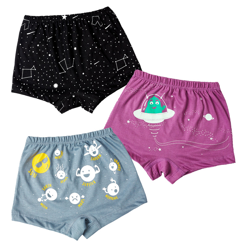 Spaced Out - Girl Boxers